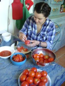 Rêveries Gasconnes Cuisine des tomates du jardintitle