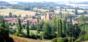 Rêveries Gasconnes Village Simorrrejpgtitle