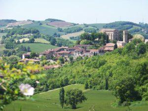 Rêveries Gasconnes Village médiéval de Castelnau Barbarenstitle